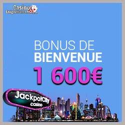 Bonus offerts sur Jackpot City Casino