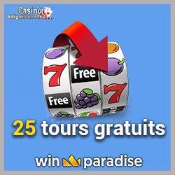 Bonus offerts sur Win Paradise Casino
